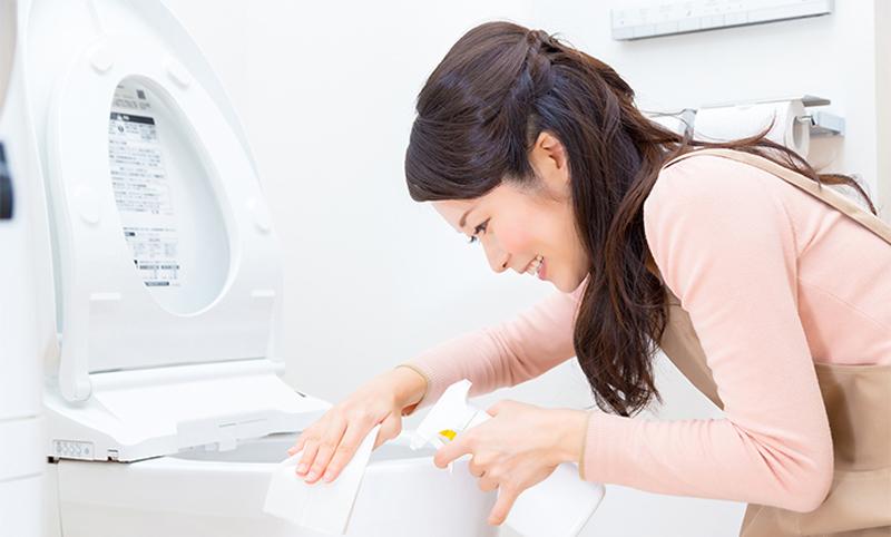 トイレがキレイで金運アップ!トイレ掃除の効率を上げる便利グッズ